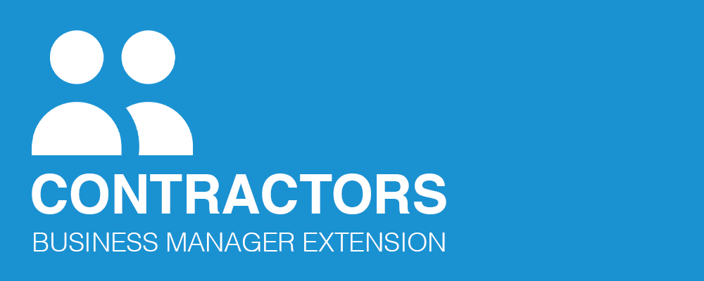 Contractors Extension for Business Manager