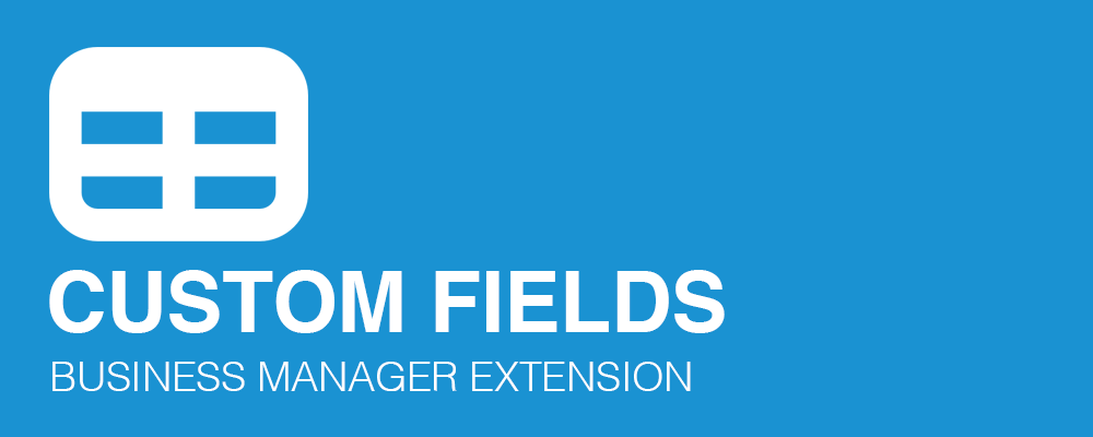 Custom Fields Extension for Business Manager