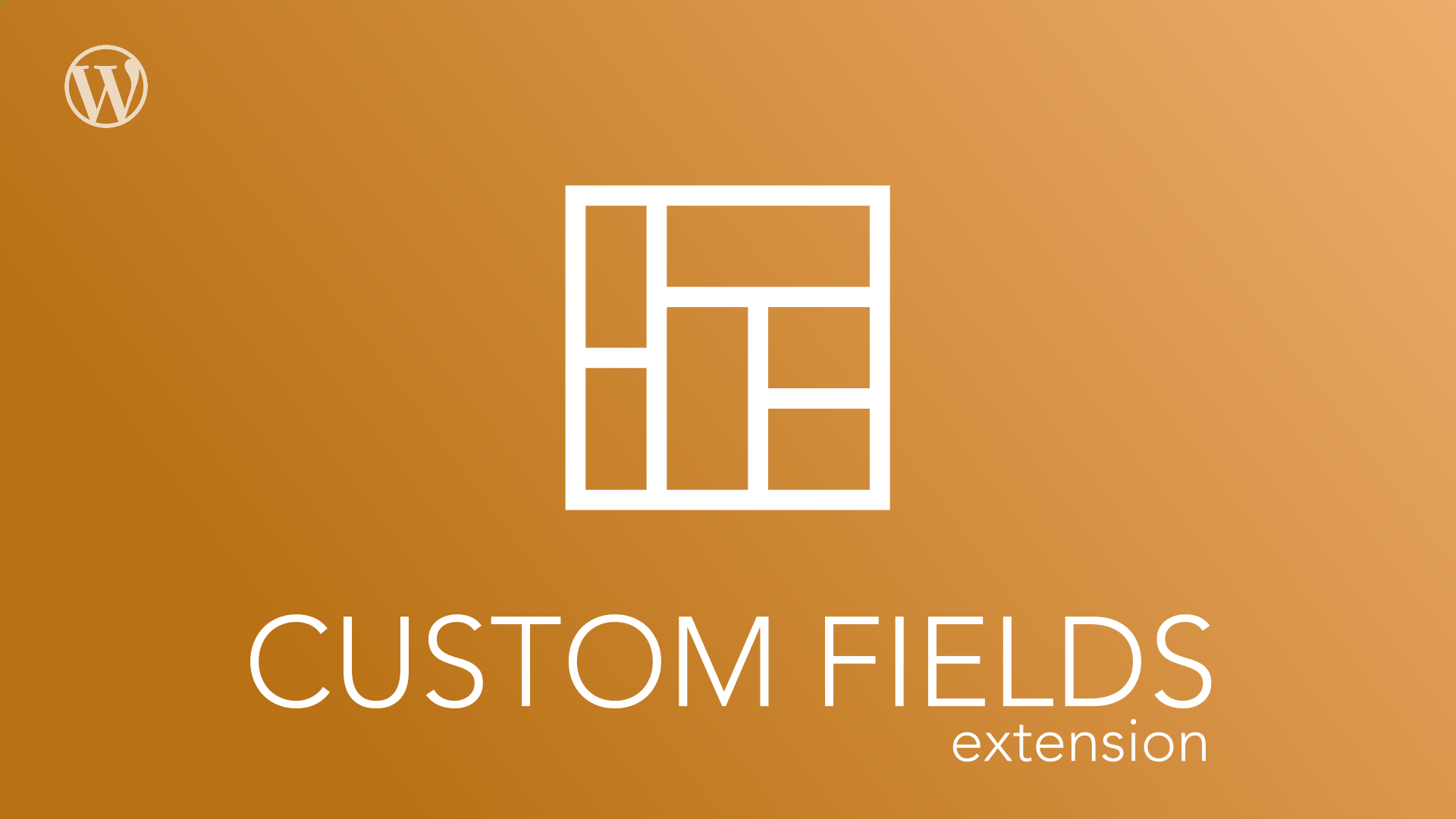 This is the Wordpress Business Manager Custom Fields Extension Plugin